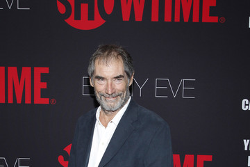 Timothy Dalton Arrivals at the Showtime Emmy Eve Soiree