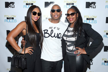 "Tina Douglas MTV And Ja Rule: ""Follow The Rules"" Premiere Party"