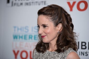 Tina Fey Tribeca Film Institute Annual Gala Benefit Screening Of 'This Is Where I Leave You' - Arrivals