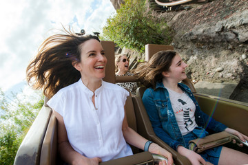 Tina Fey Tina Fey Braves Expedition Everest at Walt Disney World