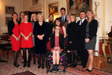 Tina Fletcher The Duchess Of Cornwall Hosts A Reception For British Equestrian Teams From The London 2012 Olympics And Paralympics