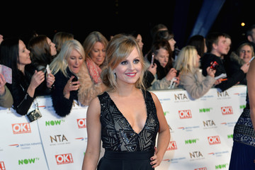 Tina O'Brien National Television Awards - Red Carpet Arrivals