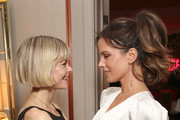 (L-R) Jaime King and  Kate Beckinsale attend Tings Magazine Private Dinner at the Private Residence of the CEO of Absolut Elyx on January 28, 2020 in Los Angeles, California.