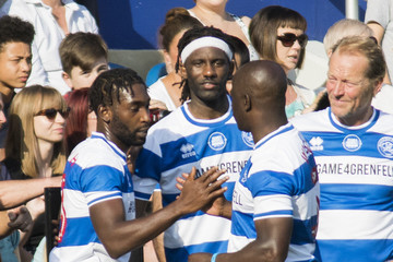 Tinie Tempah #GAME4GRENFELL at Loftus Road