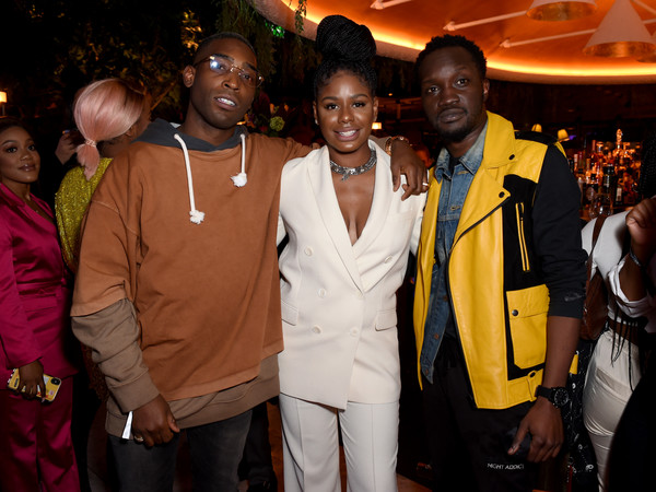 The YouTube Music Excellence Brunch Hosted By Lyor Cohen & Tuma Basa [photo,event,fashion,formal wear,party,fashion design,suit,lyor cohen,zeze millz,tinie tempah,arnold oceng,global head of music,head of urban music,youtube music excellence brunch,tuma basa,youtube music\u00e2,arnold oceng,photograph,photography,image,musician,stock photography,youtube music,getty images]