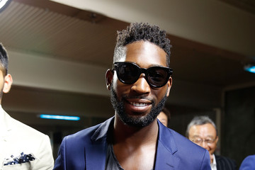 Tinie Tempah Day 3 - Front Row - London Collections Men SS16