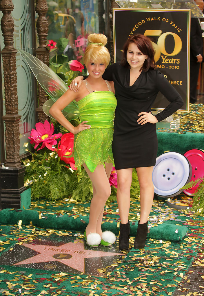 D And D Trailers >> Mae Whitman Photos Photos - Tinker Bell Honored On The ...
