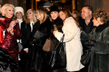 Tinsley Mortimer Lotte New York Palace Annual Tree Lighting
