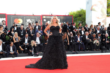 Tiziana Rocca 'First Man' Premiere, Opening Ceremony And Lifetime Achievement Award To Vanessa Redgrave Red Carpet Arrivals - 75th Venice Film Festival