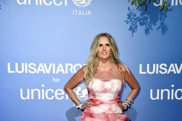 Tiziana Rocca Unicef Summer Gala Presented By Luisaviaroma – Photocall