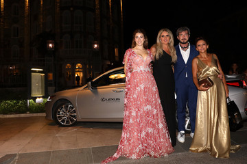 Tiziana Rocca Paolo Ruffini Lexus At The Filming In Italy After Party Arrivals - The 76th Venice Film Festival
