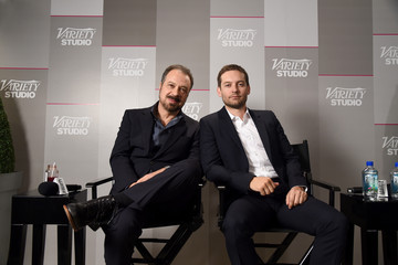 Tobey Maguire Variety Studio Presented By Moroccanoil At Holt Renfrew - Day 3 - 2014 Toronto International Film Festival