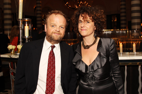 Toby Jones with beautiful, Wife Karen Jones