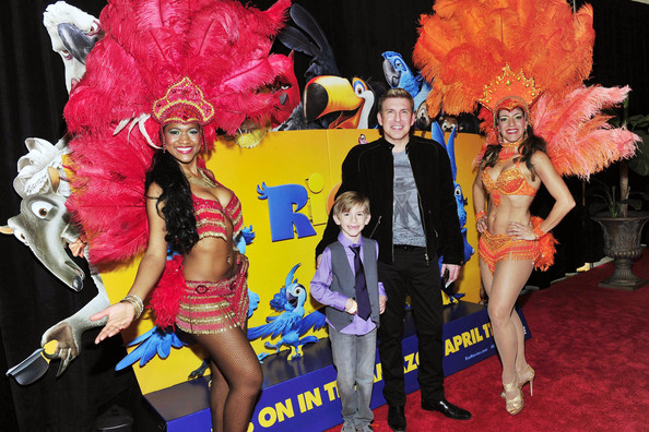 Todd Chrisley Son 'rio 2' screening in atlanta