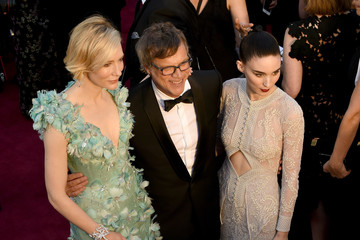 Todd Haynes Rooney Mara 88th Annual Academy Awards Arrivals From a Distance
