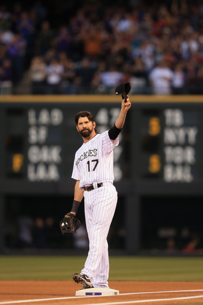 Todd helton pictures boston red sox v colorado rockies for Todd helton