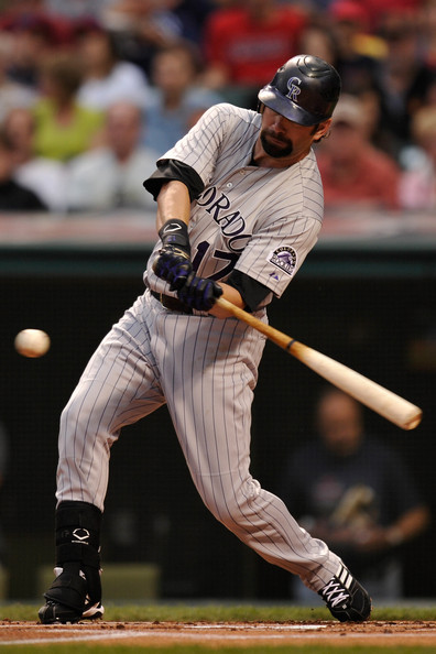 Todd helton pictures colorado rockies v cleveland for Todd helton