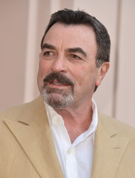 Tom Selleck Actor Arrives To A Screening And Panel