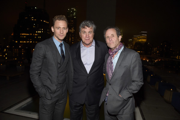 The Cinema Society With Hestia & St-Germain Host a Screening of Sony Pictures Classics' 'I Saw the Light' - After Party [i saw the light,suit,formal wear,event,night,tuxedo,smile,photography,businessperson,white-collar worker,flash photography,marc abraham,tom bernard,tom hiddleston,l-r,cinema society with hestia st-germain host a screening of sony pictures classics,party,sony pictures classics,party,screening]