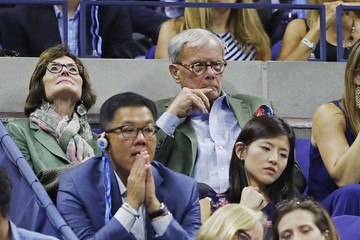 Tom Brokaw 2017 US Open Tennis Championships - Day 12