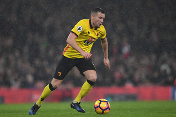 Tom Cleverley Arsenal v Watford - Premier League