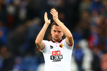 Tom Cleverley Leicester City v Watford - Premier League