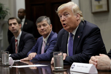 Tom Cotton President Trump Holds A Roundtable On Foreign Investment