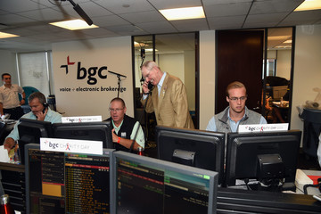 Tom Coughlin Annual Charity Day Hosted By Cantor Fitzgerald, BGC and GFI - BGC Office - Inside