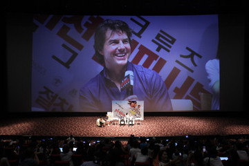 Tom Cruise 'Mission: Impossible - Rogue Nation' Special Theater Visit