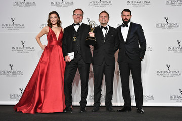 Tom Cullen 45th International Emmy Awards - Press Room