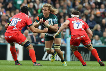 Tom Curry Leicester Tigers vs. Sale Sharks - Gallagher Premiership Rugby