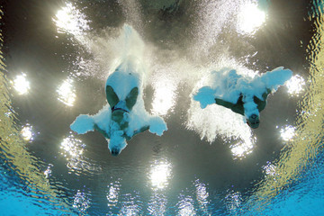 Tom Daley Peter Waterfield Olympics Day 3 - Diving
