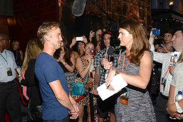 Tom Felton Red Carpet Arrivals at Diagon Alley