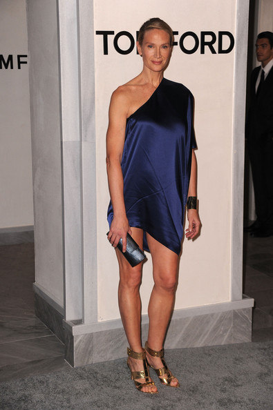 Kelly Lynch In Tom Ford Beverly Hills Flagship Store