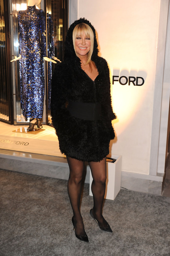 Suzanne Somers Photos Tom Ford Beverly Hills Flagship