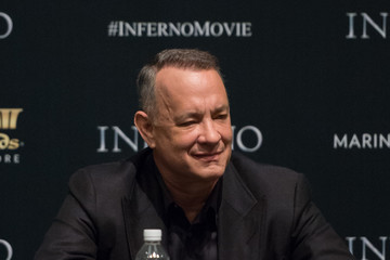 Tom Hanks 'Inferno' Press Conference, Marina Bay Sands, Singapore