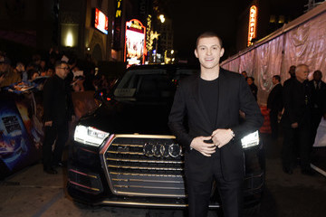 Tom Holland Audi Celebrates The World Premiere Of 'Spies In Disguise'