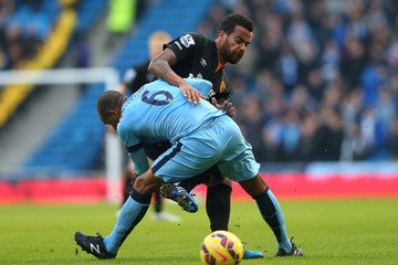 Tom Huddlestone Manchester City v Hull City - Premier League