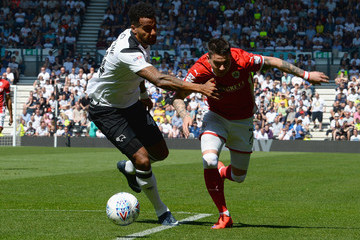 Tom Huddlestone Derby County vs. Barnsley - Sky Bet Championship
