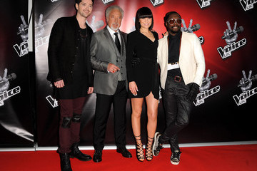 Tom Jones 'The Voice UK' Launches in London
