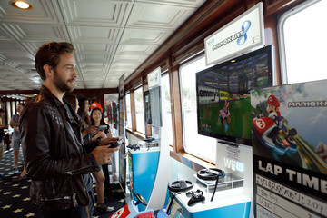 Tom Mison Nintendo Lounge On The TV Guide Magazine Yacht At Comic-Con #TVGMYacht - Day 3