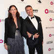 Tom Moore Celebrities Attend an Oscar Viewing Party