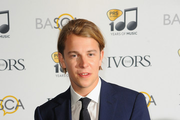 Tom Odell Arrivals at the Ivor Novello Awards