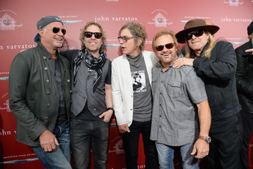 Tom Petersson Daxx Nielsen John Varvatos 13th Annual Stuart House Benefit Presented by Chrysler With Kids' Tent by Hasbro Studios - Arrivals