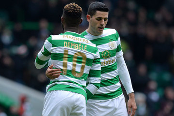 Tom Rogic Celtic vs. Greenock Morton - Scottish Cup Quarter Final