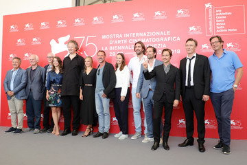 Tom Schilling 'Werk Ohne Autor (Never Look Away)' Photocall - 75th Venice Film Festival