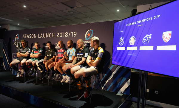 European Rugby Launch For Premiership Rugby Clubs