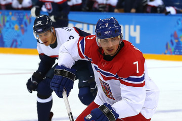Tomas Kaberle Ice Hockey - Winter Olympics Day 11