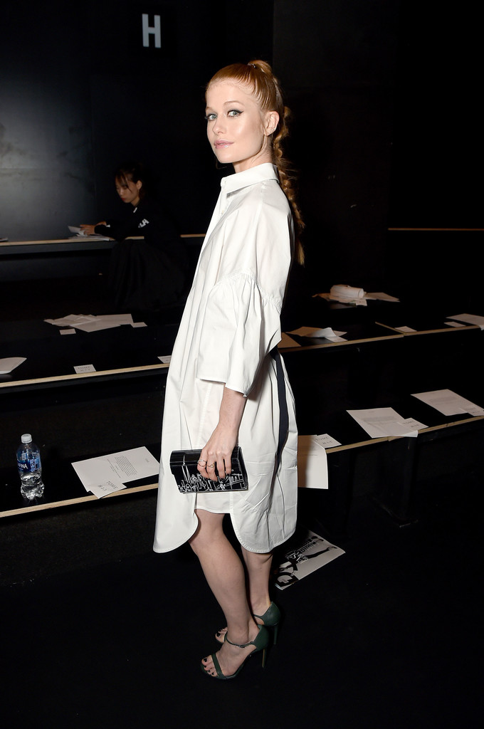 Genevieve Angelson Photos Photos Tome Front Row September 2016 New York Fashion Week