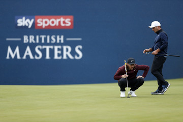 Tommy Fleetwood Sky Sports British Masters - Day One